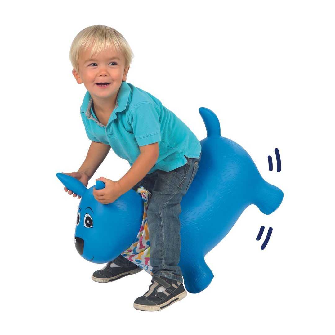 כלב קפיצה כחול לודי