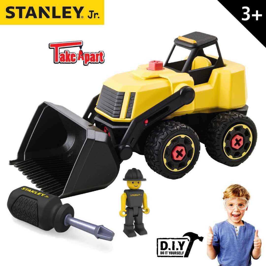 משאית עם כף קדמית סטנלי